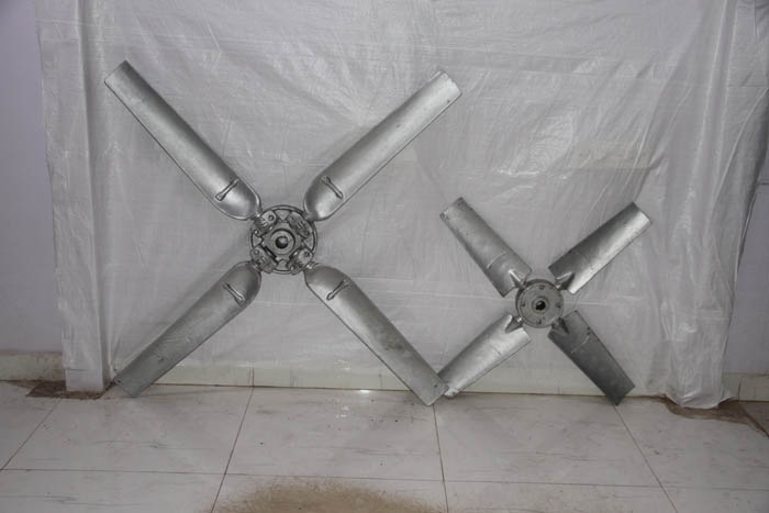 Cast Aluminium Fan